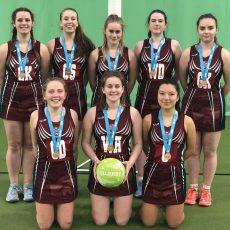 U18 Girls Netball – Third in Devon!