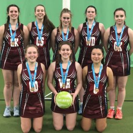 U18 Girls Netball – Third in Devon!