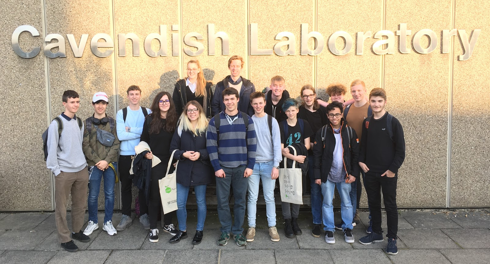 Year 12 Physics trip to The Cavendish Laboratory