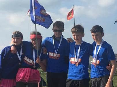 Churston Boys Complete Ten Tors 35 Mile Challenge