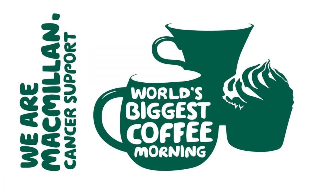 Macmillan Coffee Morning – We raised £622.32